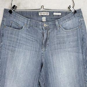 Vintage America Blues Boho Cropped Jeans 14/32
